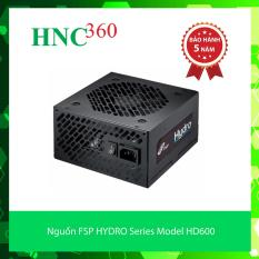 Nguồn FSP HYDRO Series Model HD600 – Active PFC – 80 Plus Bronze