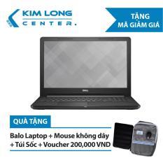 Laptop Dell Vostro V3578 Core i7-8550U/Free Dos (15.6 inch) – Black – Hàng Nhập Khẩu