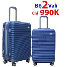 Bộ 2 vali 802 Màu Xanh Dương
