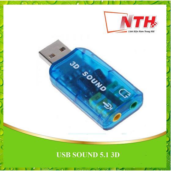 Giá USB ân thanh SOUND 5.1 3D