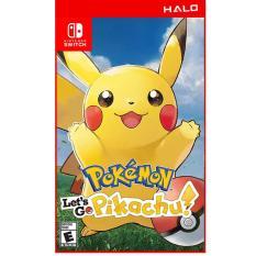 Game Nintendo Switch Pokemon: Let's Go, Pikachu! – Phiên Bản US