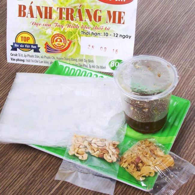 Bánh Tráng Sốt Me Cay (5 Bịch) – Đặc Sản Tây Ninh Khó Chối Từ