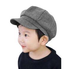 Mũ beret bánh tiêu cho bé chất liệu cực đẹp 2-8 tuổi