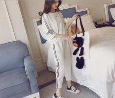 Jumpsuit Nữ Vải Thun Da Cá Thời Trang Hàn Quốc L&T Fashion_ S35