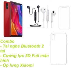 Xiaomi Mi 8SE 64GB Ram 4GB (Đỏ) + Tai nghe Bluetooth 2 tai + Cường lực 5D Full màn hình + Ốp lưng – Hàng nhập khẩu