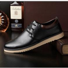 Giày da nam đế mềm G354