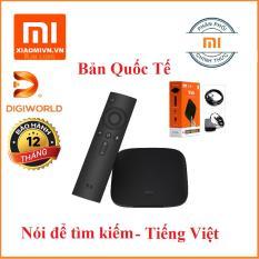 Android Tivi Box Xiaomi Mibox 4K Ultra HD set-top box Global Quốc Tế Tiếng Việt