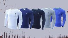 Áo thun giữ nhiệt – ( combo 3 áo đen + trắng + xám – 169k ) lẻ 69k/ 1 áo