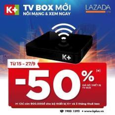 Bộ thiết bị K+ TV BOX và 3 tháng thuê bao Premium HD+
