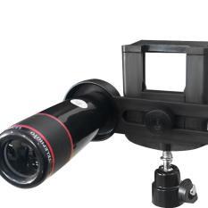 Ống kính LENS đa năng ZOOM 12X dành cho điện thoại có chân đế