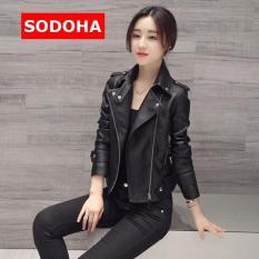 Áo Khoác Nữ Siêu Hot Mẫu Mới Top Sodoha K59B Black