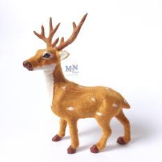 Hươu sao cao 22cm trang trí Giáng sinh – Noel