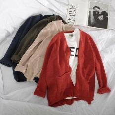[Chip Closet] Áo len cardigan choàng form rộng hot hit