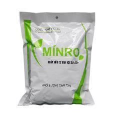 PHÂN HỮU CƠ SINH HỌC MINRO (dạng bột) – 700g (2018)