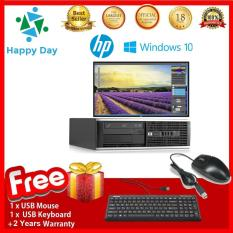Bộ Combo Máy tính HP 6300 Pro SFF + LCD Dell 24inch Full HD (CPU Core I3 3220- Ram 8GB- SSD 240GB- HDD 1TB) + Bộ Quà Tặng