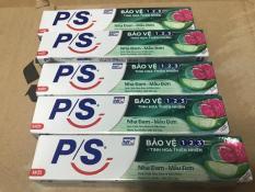 Combo 5 cây kem đánh răng P/s Bảo vệ 1 2 3 Tinh Chất Nha Đam & Mẫu Đơn 30g