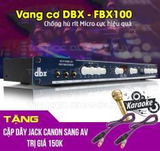 Vang số chỉnh cơ dbx FBX-100 chống hú tặng bộ jack Canon ra AV