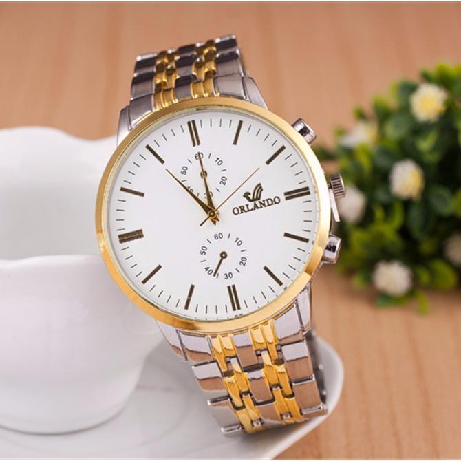 Nên mua Đồng hồ nam Orlando OLDT013 dây thép không gỉ ở DE'CAO WATCH