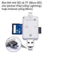 Đầu đọc thẻ nhớ MicroSD cho iPhone, iPad cao cấp