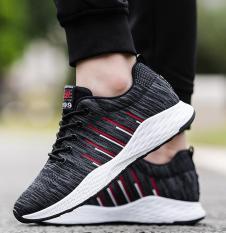 [ hộp + sẵn hàng + hình thật] Giày thể thao sneaker mẫu hot trong năm 2018 giày nam 036