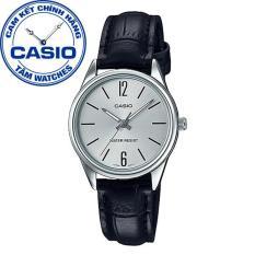 Đồng hồ nữ dây da Casio Standard Anh Khuê LTP-V005L-7BUDF