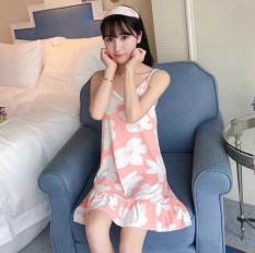 Váy 2 dây mặc ở nhà có clip test