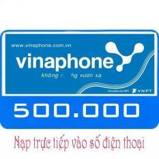 Nạp tiền Vinaphone 500K