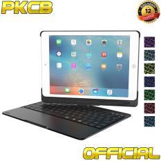 Bàn Phím bluetooth keyboard Ipad 9.7 inch 2018, Ipad 9.7 inch 2017, Ipad air, ipad air 2, iPad pro Ốp lưng xoay 360 độ Đèn lED PKCB – 180 2018 PF105