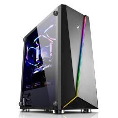 Vỏ máy tính Vitra Nefertiti X9 RGB E-ATX Temper Glass kèm 1 Fan Ring LED
