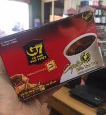 Cà phê G7 hòa tan ĐEN – không đường 15 gói x 2g