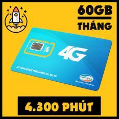Giá Tốt SIM 4G VIETTEL V90 TẶNG 60GB DATA, MIỄN PHÍ NGHE GỌI Tại Smart Sim