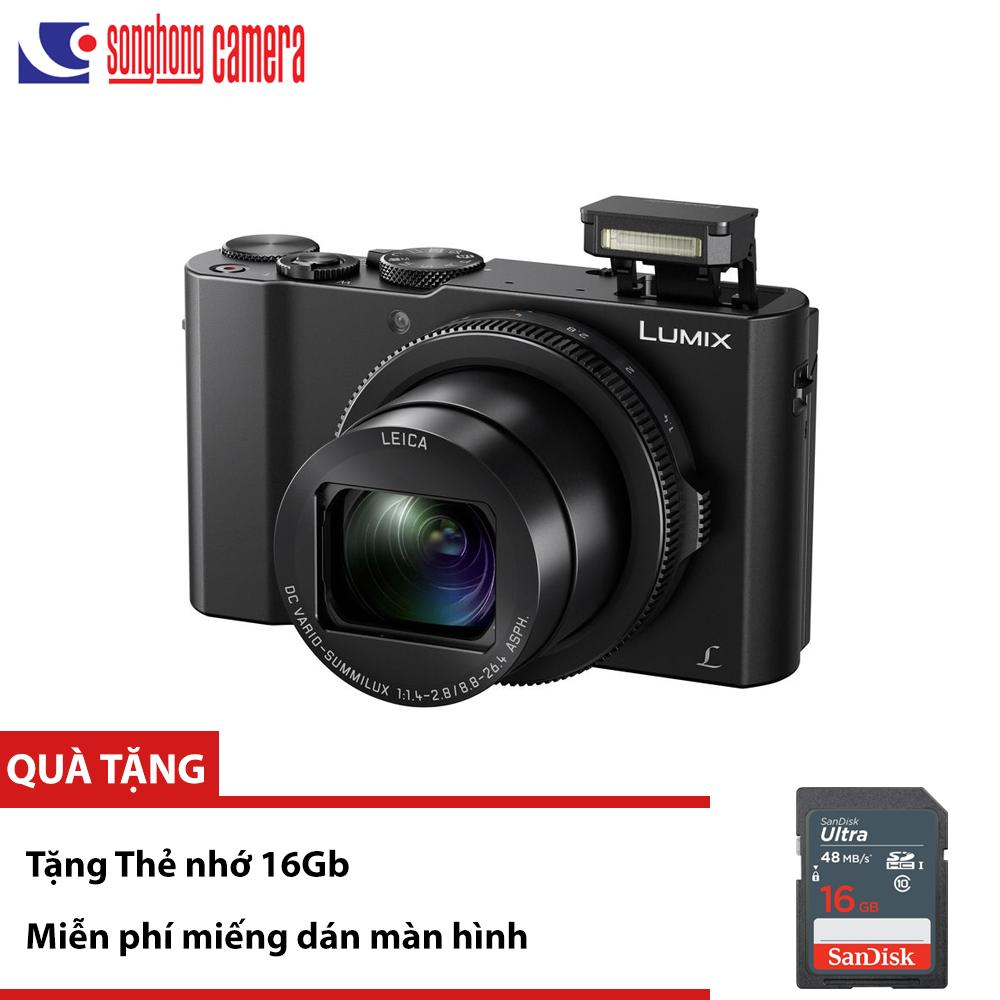 Mua Máy ảnh Panasonic Lumix DMC LX10 / LX15 – Quay phim 4K, ống LEICA F1.4, Wi-Fi – Tặng thẻ 16Gb ở đâu tốt?