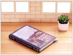 Sổ tay bìa cứng hình cung điện dùng quản lí thời gian, viết nhật ký, bìa phong cách thời trang sang trọng, phù hợp cho học sinh, sinh viên, nhân viên văn phòng