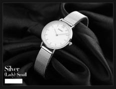 Đồng hồ nữ dây thép lưới không gỉ SKMEI 1181 (Tặng pin đồng hồ)