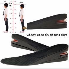 Lót Giày Tăng Chiều Cao Nguyên Bàn 2 Lớp Cao 5cm