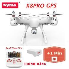 ( GỒM 2 PIN ) Máy bay flycam Syma X8 Pro (Syma X8 Pro) – Có GPS, tự động quay về, camera truyền trực tiếp- Bảo hành 3 tháng