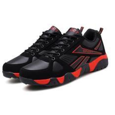 Giày Thể Thao Nam Hàn Quốc SACAS SC048(Đen Đỏ)