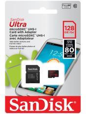 Thẻ nhớ SanDisk Ultra 128GB microSD dùng tăng bộ nhớ cho Máy Nintendo Switch