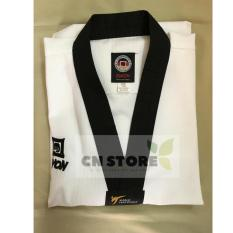 Quần Áo Võ _ Võ Phục Taekwondo Hiệu Kwon Cổ Đen Nhập Khẩu Giá Tốt