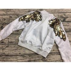 Áo khoác đính kim sa đôi cánh thần tiên MS018