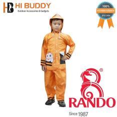 Áo mưa trẻ em bộ ong mật Rando CSPS-20 Size 5 1.3 – 1.45 m