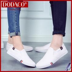 Giày Mọi Nam Nữ Đế Bằng Lười Rẻ Đẹp 2019 DODACO TTS0019 6601