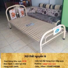 giường sắt ngang 80 dài 2m