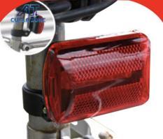 Đèn Led gắn yên xe chóp đèn Led (Đỏ)