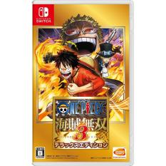 Đĩa Game Nintendo Switch (Bản Tiếng Trung) – One Piece Pirate Warrior 3 Deluxe Edition