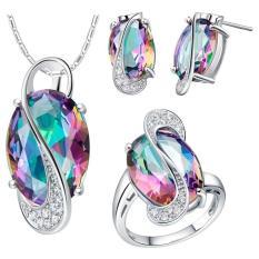 Bộ trang sức Hàn Quốc 3 món bạc s925