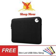 Túi Chống Sốc Dành Cho Laptop 14 inch + Quà Tặng ( Đen )