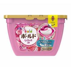 Hộp viên giặt xả hương hoa 3D Gel BallNhật Bản 18 viên