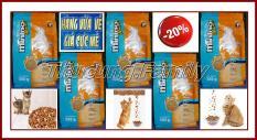 Combo 5 túi thức ăn hạt cho Mèo mọi lứa tuổi: Bliks mới- MInino Yum 350g/túi. Vị hải sản- Sản phẩm của Pháp.