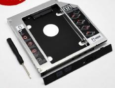 Caddy Bay SATA 3.0 – 9.5mm gắn thêm ổ cứng HDD SSD cho Laptop – Tặng Tovit
